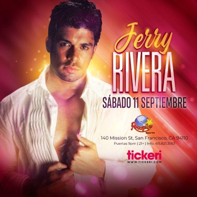 Flyer for JERRY RIVERA EN SAN FRANCISCO