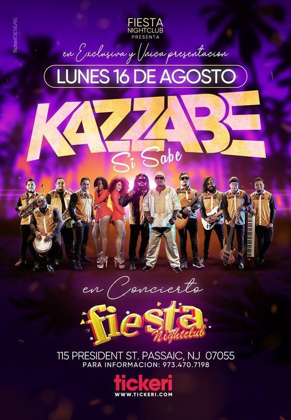 Flyer for KAZZABE