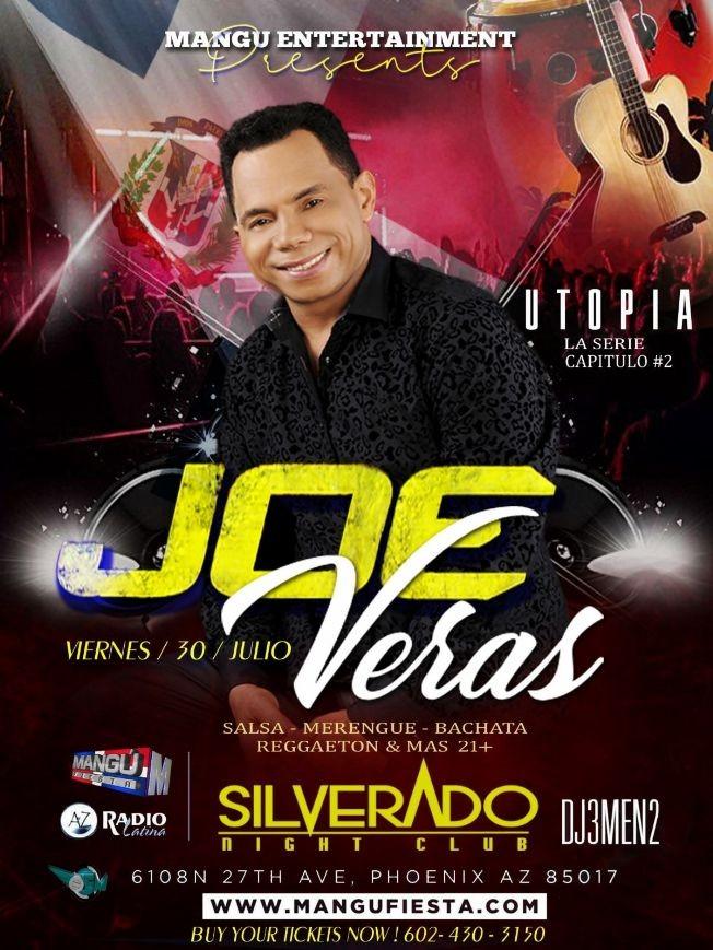 Flyer for Utopia #2 con Joe Veras & su Orquesta