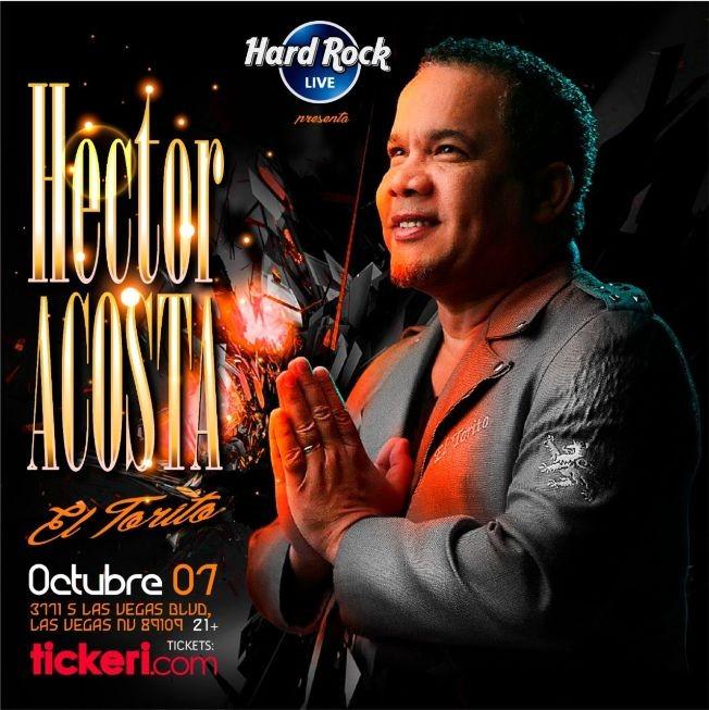 Flyer for Hector Acosta El Torito en Las Vegas