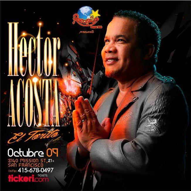 Flyer for Hector Acosta El Torito en San Francisco