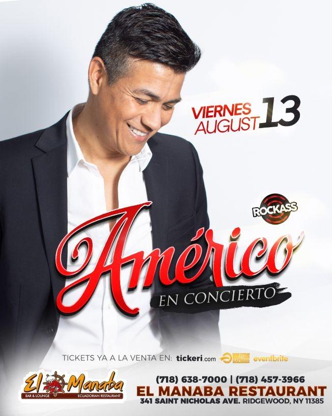 Flyer for Américo en Brooklyn