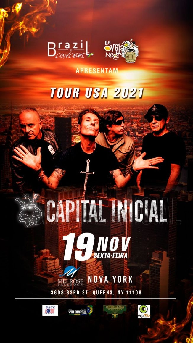 Flyer for Capital Inicial