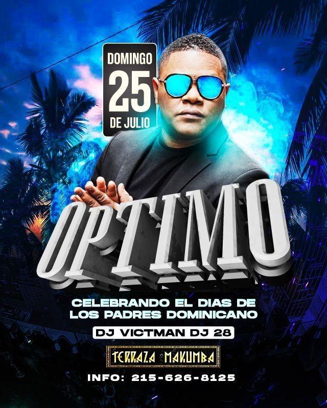 Flyer for GRUPO OPTIMO EN CONCIERTO ! EN PHILADELPHIA PENNSYLVANIA
