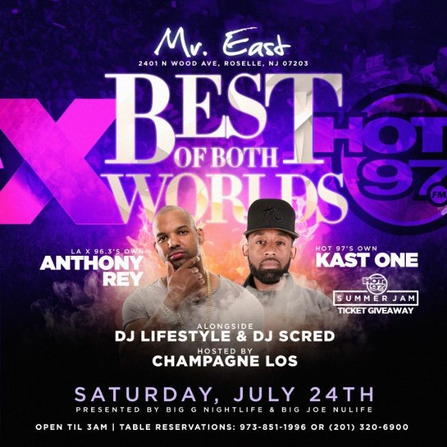 Flyer for Latin Vibe Saturdays Best Of Both Worlds At Mister East
