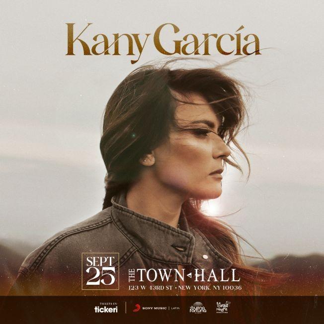 Flyer for KANY GARCIA EN CONCIERTO ! NEW YORK