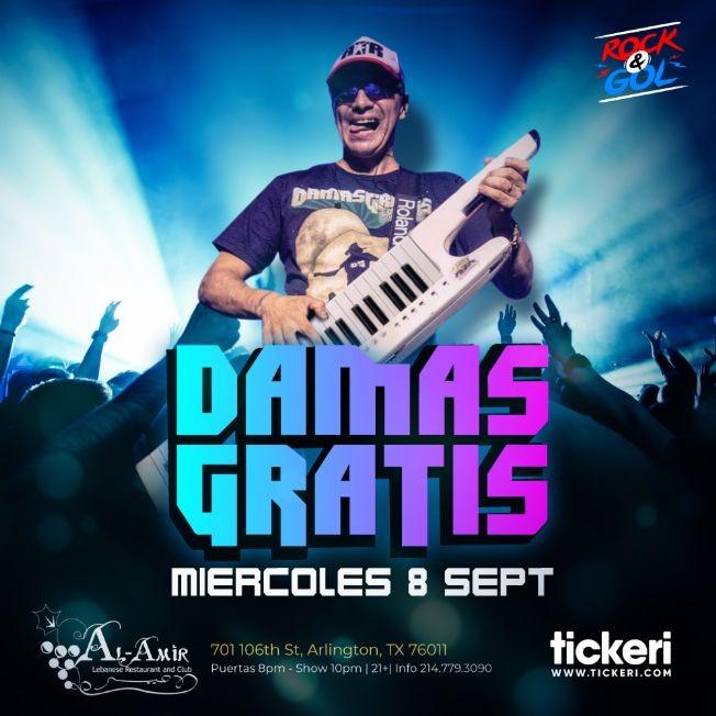 Flyer for DAMAS GRATIS EN DALLAS