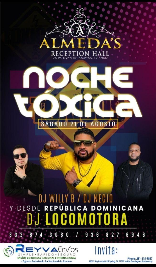 Flyer for DJ LOCOMOTORA