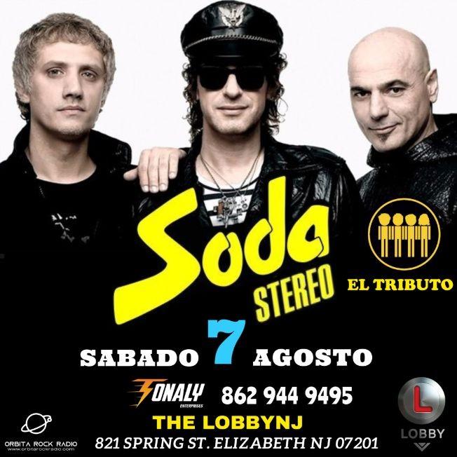 Flyer for SODA STEREO EL TRIBUTO