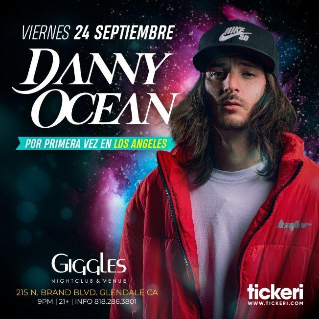 Flyer for DANNY OCEAN EN LOS ANGELES