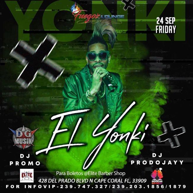 Flyer for El Yonki