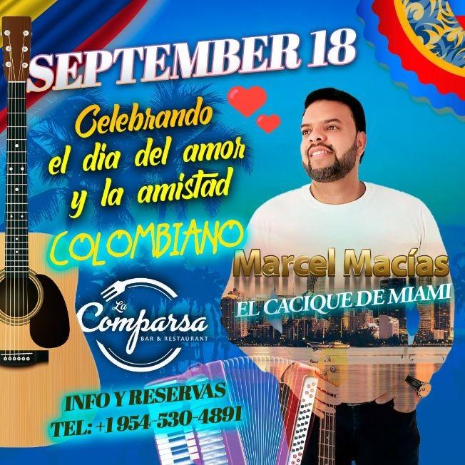 Flyer for Día del Amor y la Amistad