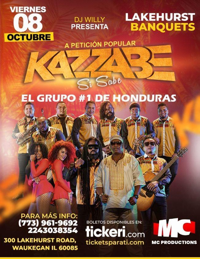 Flyer for A pedido del publico vuelve: Kazzabe Si Sabe en Vivo!