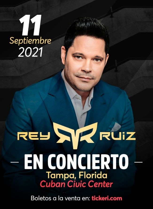 Flyer for Rey Ruiz Tour 2021