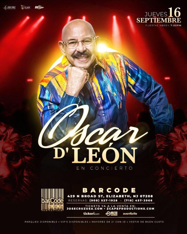 Flyer for Oscar de León