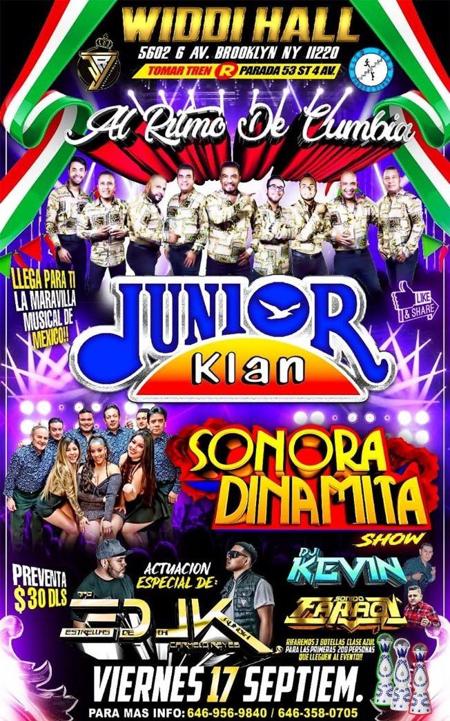 Flyer for Al Ritmo De Cumbia