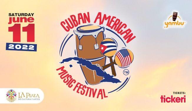 Flyer for Cuban American Music Festival 2022