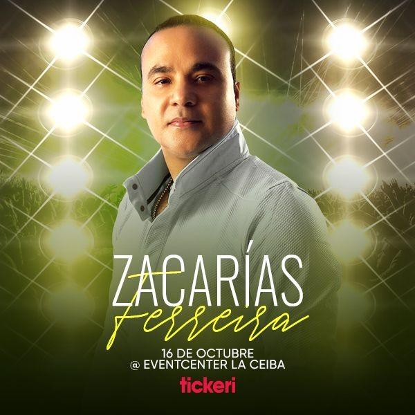 Flyer for ZACARIAS FERREIRA EN SAN JOSE