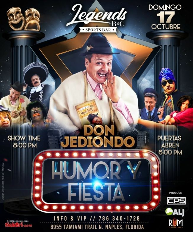 Flyer for Don Jediondo  En Naples