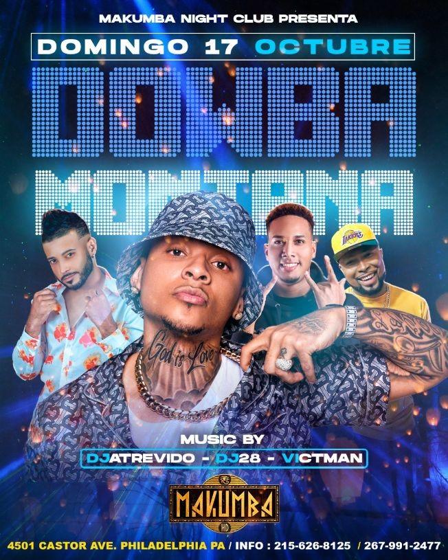 Flyer for Dowba Montana en Vivo!