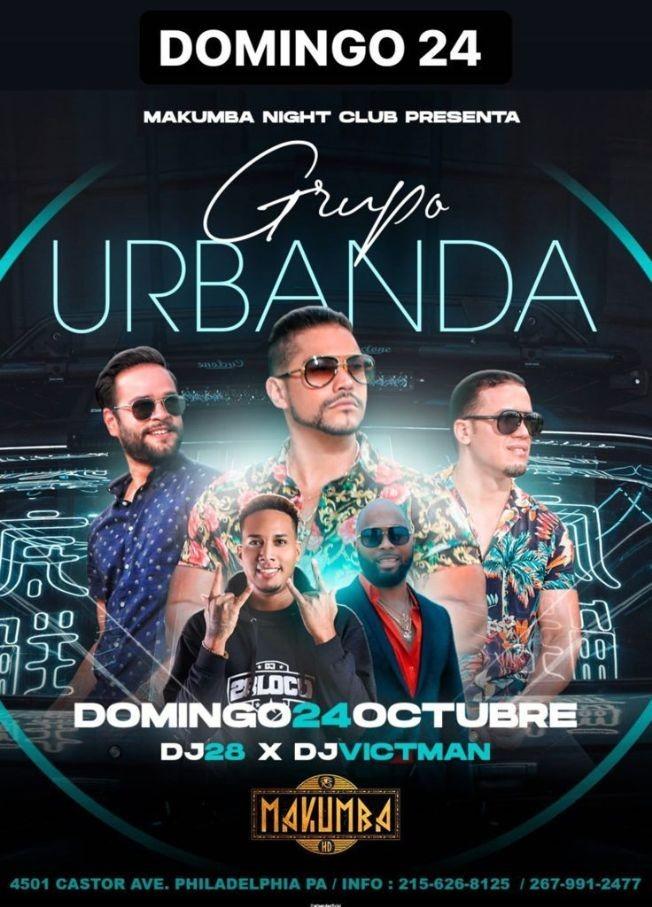 Flyer for Grupo Urbanda en Vivo!