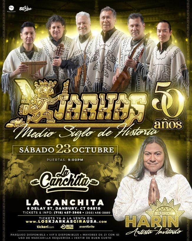 Flyer for KJARKAS 50 AÑOS, MEDIO SIGLO DE HISTORIA ! DANBURY CT