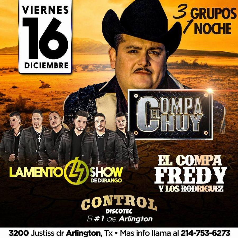 El Compa Fredy Amp Los Rodriguez Lamento Show De Durango